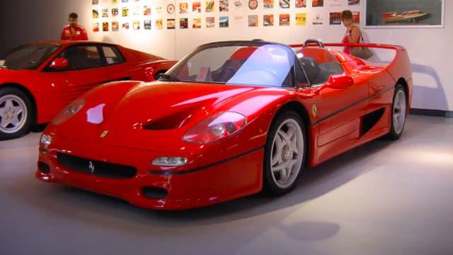 Ferrari Galleria Visit