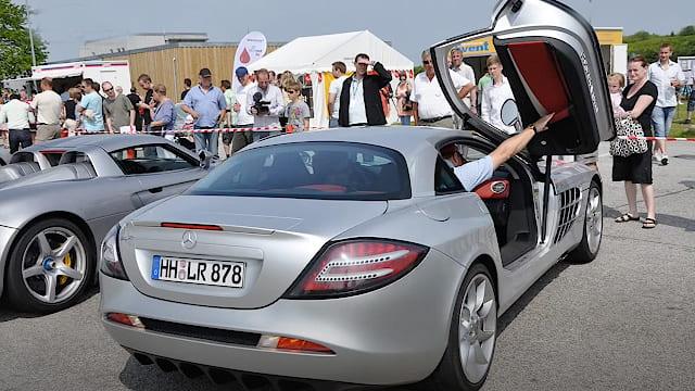 Billeder af sportsvogne til Sportscarevent i Tune_