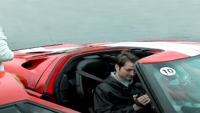 Co-driver i en Ford GT - Bag rettet sidder selveste Jason Watt - Denne Ford GT har 750 HK