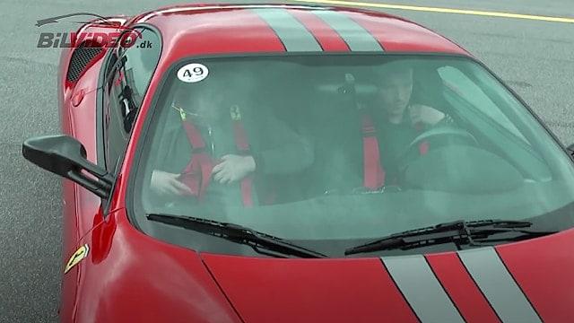 Ferrari F430 Scuderia er altid en oplevelse som co-driver