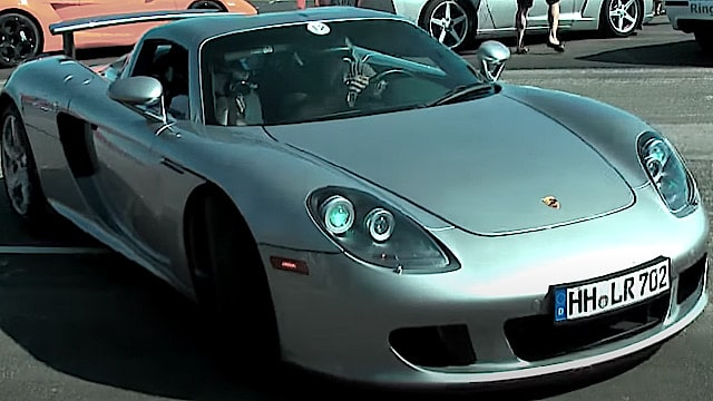 Porsche Carrera GT Onboard Video! Super Porsche Sound!