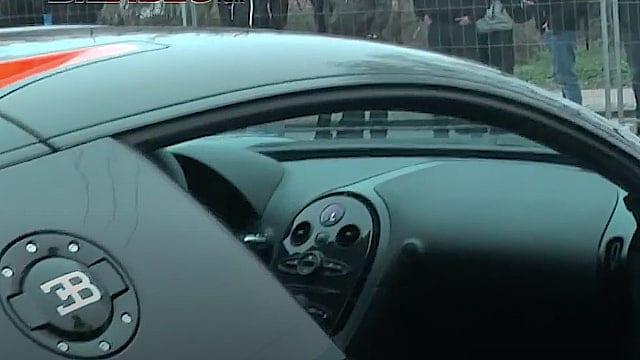 Co-driver oplevelse i en Bugatti Veyron Super Sport - Den er hurtig!!