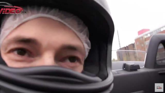 Co-driver oplevelse med racerkøren Ronnie Bremer i en Mercedes SLS AMG Roadster