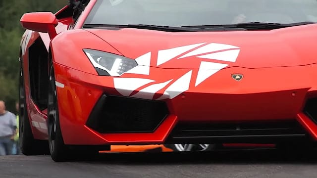 Lamborghini Aventador LP 700-4 walkaround + onboard video! - Sportscar Event 2012 at FDM Sjællandsringen in Denmark
