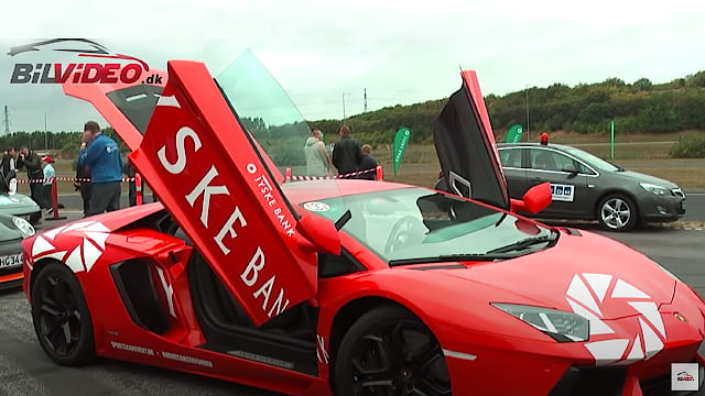 Lamborghini Aventador LP700 - walkaround and co-driver experience