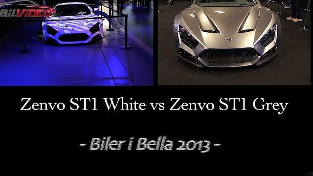 Zenvo ST1 White VS Grey