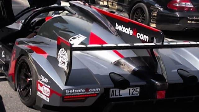 Ultima GTR Rebellion R2K - Driver Jon Olsson - Gumball 3000 - Copenhagen