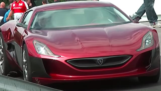 Rimac Concept One supercar - Silence and Acceleration