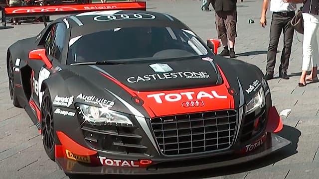 Audi R8 Ultra - Race for Riget - Tom Kristensen