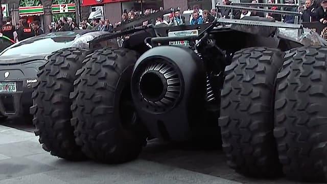 Batmobile Tumbler - Gumball 3000 - Copenhagen - Rådhuspladsen - 2013