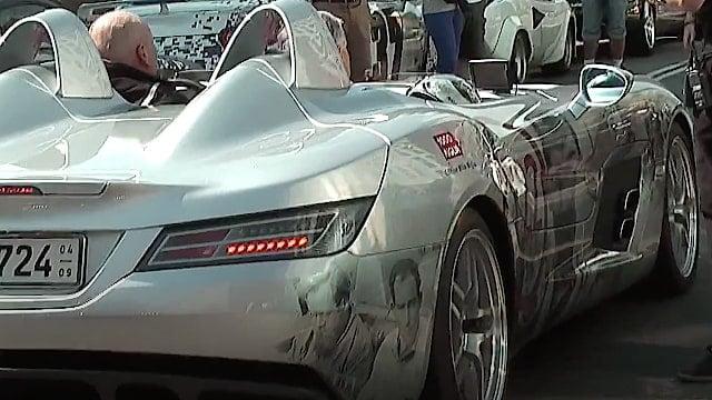 McLaren Mercedes SLR Stirling Moss - Copenhagen - GUMBALL 3000