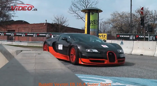 Bugatti Veyron Super Sport Engine Sound