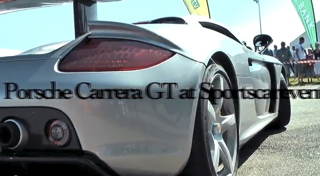 Porsche Carrera GT onboard