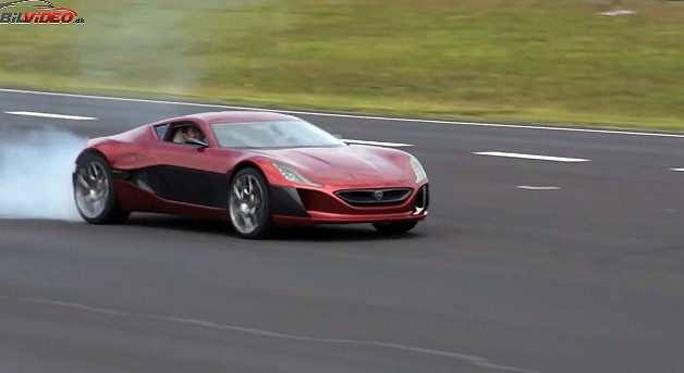 Rimac Concept One Video