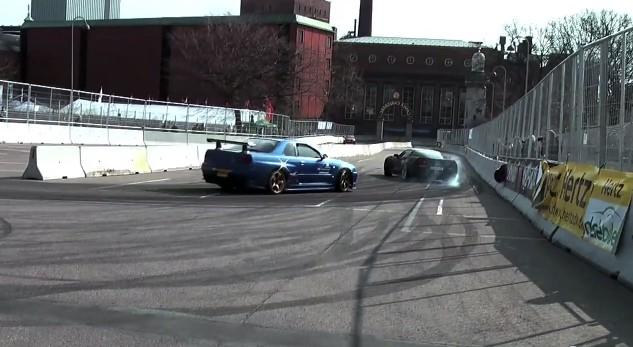 Skyline and Corvette Racing Festival video