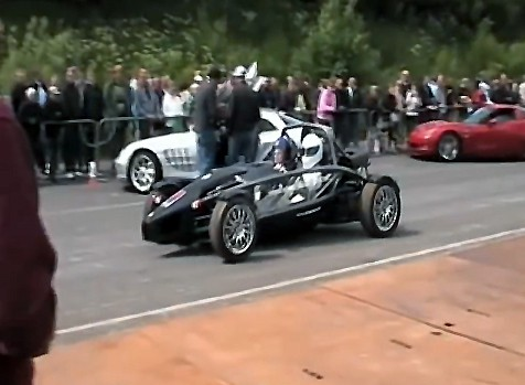 The Stig in Ariel Atom 3
