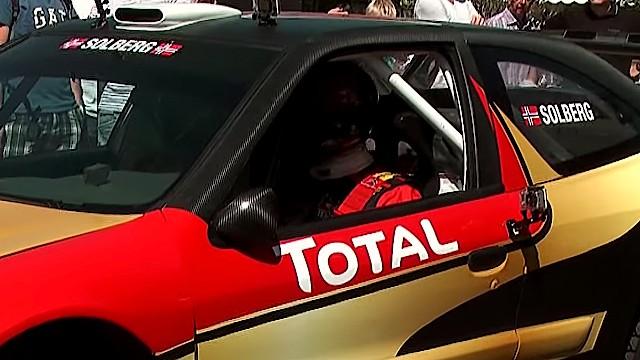 Petter Solberg in his Citroën Xsara WRC