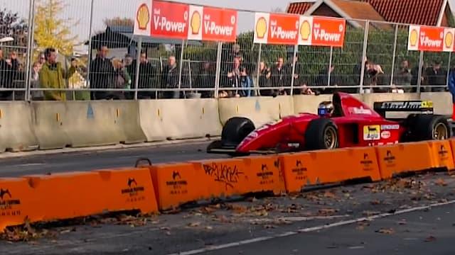 F1 Ferrari 412 T2 in Roskilde