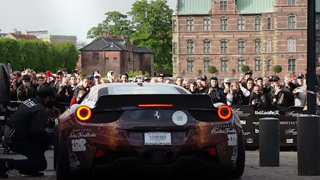 Ferrari 458 Liberty Walk at Gumball 3000 in Copenhagen in 2015