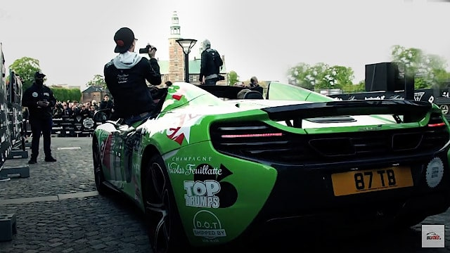 Gumball 3000 arrieves at Copenhagen in 2015