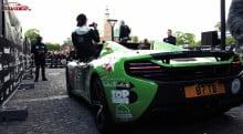 Gumball 3000 ankommer til Rosenborg Slot