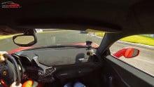 Ferrari 458 Speciale på Jyllandsringen