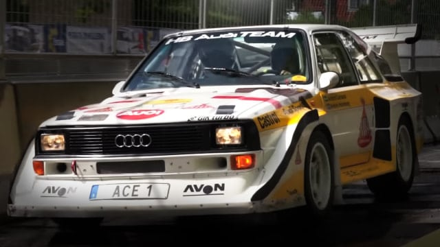 Audi S1 Quattro sound - Race for Riget - CHGP 2016