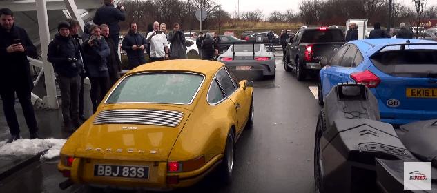 Porsche 911SM The Snow Tour 2017