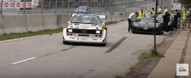 Audi S1 Quattro og koenigsegg