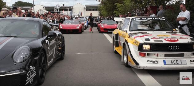 Audi S1 Quattro samlet start