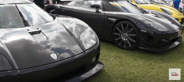 Race for Riget 2016 supercars
