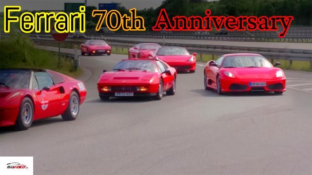 Ferrari 70 års fødselsdag