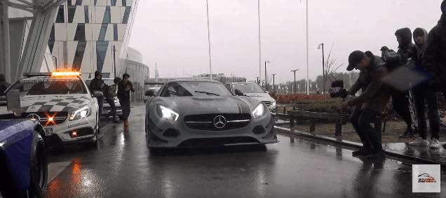 Mercedes AMG TG3 forfra The Snow Tour 2017