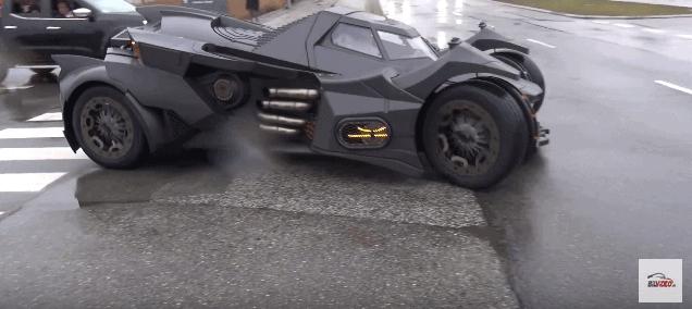 batmobile The Snow Tour 2017