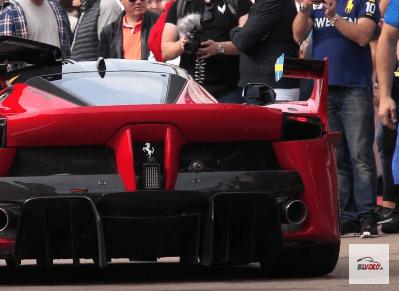 Ferrari FXX K pit
